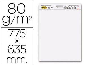 BLOC CONGRESO POST-IT 775 X 635MM CON 30 HOJAS 80 GRS