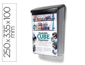 BUZON DE EXTERIOR DEFLECTO PARA MATERIAL PUBLICITARIO CONCON INHIBIDORES UV COLOR TRANSPARENTE 250X3