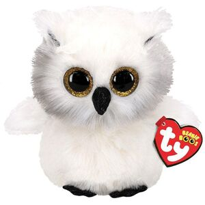 PELUCHE B. BOO AUSTIN WHITE OWL 15 CM.