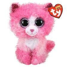 PELUCHE B. BOO REAGAN PINK CAT 15 CM.