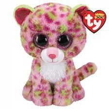 PELUCHE B. BOO LAINEY PINK LEOPARD 15 CM.