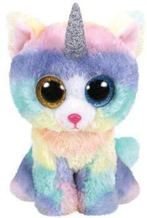 PELUCHE B. BOO HEATHER CAT WITH HORN 24 CM