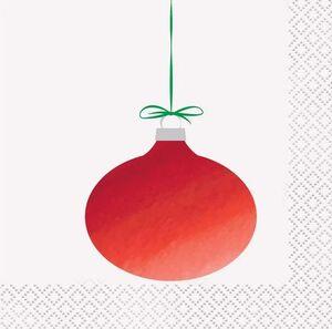 SERVILLETAS COCKTAIL CHRISTMAS 2 CAPAS