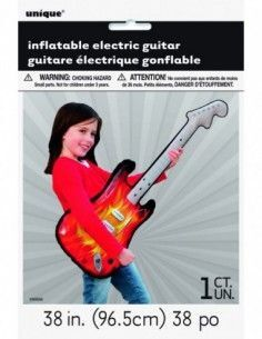 GUITARRA ELECTRICA INFLABLE 96,5 CM.