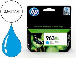 INK-JET HP 963 XL OFFICEJET PRO 9010 / 9020 / 9022 / 9023 / 9025 CIAN 1600 PAGINAS