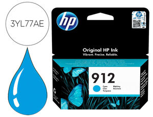 INK-JET HP 912 OFFICEJET 8010 / 8020 / 8035 CIAN 315 PAG