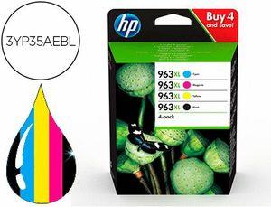 INK-JET HP 963 XL OFFICEJET PRO 9010 / 9020 / 9022 / 9023 / 9025 MULTIPACK PACK AMARILLO / MAGENTA /