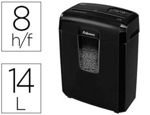 DESTRUCTORA FELLOWES 8MC 8 HOJAS PARTICULAS