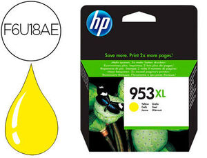 CARTUCHO INK-JET HP 953XL AMARILLO OFFICEJET PRO 7730 / 8218 / 8710 / 8715 / 8720 / 8725 / 8730 / 8740 / 8745  1.600 PAG