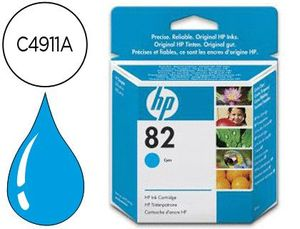 INK-JET HP DESIGNJET 500/800 P RINTER SERIES N.82 CIAN