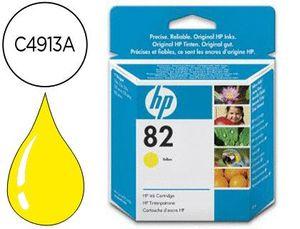 INK-JET HP DESIGNJET 500/800 P RINTER SERIES N.82 AMARILLO