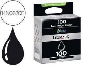 INK-JET LEXMARK 100 PRO901 / S305 / S815 NEGRO 170 PAGINAS