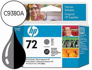 INK-JET HP 72 CABEZAL GRIS Y NEGRO FOTO DESIGNJET T610/1100