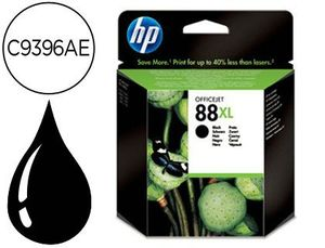 INK-JET HP 88XL NEGRO 2.450PAG OFFICEJET PRO K8600XX K5400XX K550XX L7480 L7590 L7680 L7780 L7580