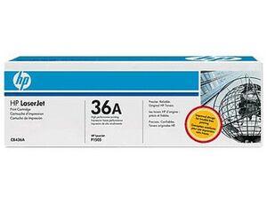 TONER HP LASERJET P1505/1505N M1120/N M1522N/NF NEGRO -2.000 PAG.- 36A