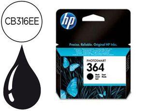 INK-JET HP 364 NEGRO PHOTOSMART PREMIUM - C309A / SERIES C5300 / C6300 / B8500 / D5400 -250PAG