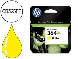 CARTUCHO INK-JET HP 364XL AMARILLO PHOTOSMART PREMIUM 750PAG