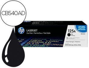 TONER HP LASERJET 125A CP1215 CP1515N CP1518N CM1312MFP NEGRO PACK DE 2 UNIDADES 2200 PAGINAS