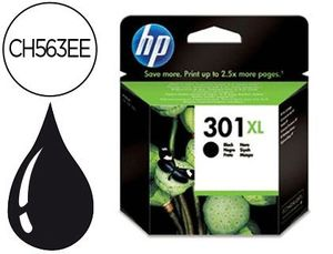 CARTUCHO INK-JET HP 301XL NEGRO