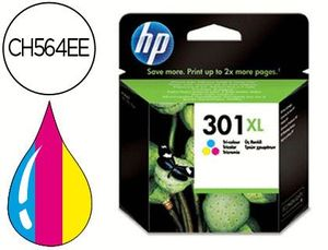 CARTUCHO HP Nº 301XL COLOR