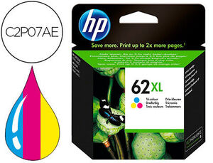 INK-JET HP 62XL ENVY 5640/7640 OFFICEJET 5740 TRICOLOR 415 PAG