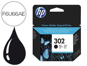 INK-JET HP 302 DESKJET 1110 / 2130 / 3630 OFFICEJET 3830 / 4650 ENVY 4520 NEGRO 190 PAG