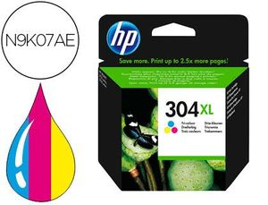 INK-JET HP 304XL DESKJET 3000 / 3720 / 3730 TRICOLOR 300 PAGINAS