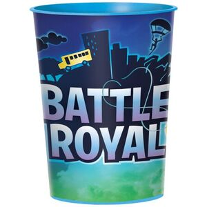 VASOS PLASTICO DURO 473 ML BATTLE ROYAL