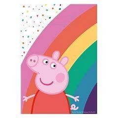 BOLSA CHUCHES/JUGUETES PEPPA PIG PARTY B-8