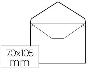 SOBRE TARJETA VISITA 70X105 OFFSET BLANCO C-100