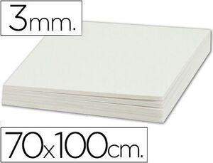 CARTON PLUMA 70X100 3MM BLANCO