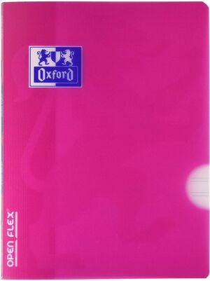 LIBRETA TAPA PLASTICO A5 48H. PAUTA 2,5 C/M OPENFLEX