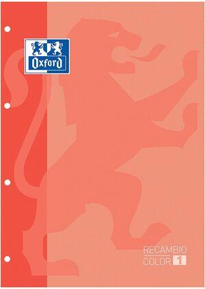 RECAMBIO OXFORD MELOCOTON A4 5X5 MM 80 HJ 90 GR