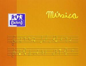 BLOCK MUSICA A5 AP 10 HJ 90 GR 5 PENT OXFORD