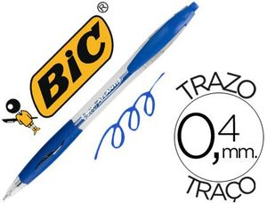 BOLIGRAFO BIC ATLANTIS AZUL RETRACTIL ACEITE