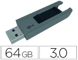 MEMORIA USB EMTEC B250 64 GB USB 3.0 SLIDE