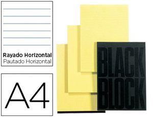 BLOC 70 NOTAS EXACOMPTA HORIZONTAL A4 AMARILLO