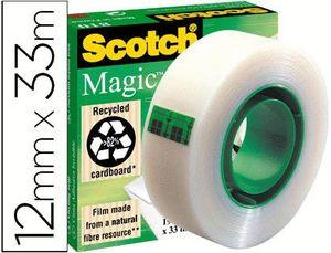 CINTA ADHESIVA SCOTCH MAGIC 12 MMX 33 M