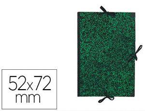 CARPETA DIBUJO CANSON CLASSIC 52X72 CM CON LAZOS MARMOL VERDE