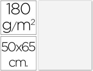 CARTULINA 50X65 185 GR BLANCA