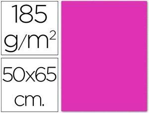 CARTULINA 50X65 185 GR FUCSIA
