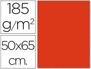 CARTULINA 50X65 185 GR TOMATE