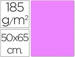 CARTULINA 50X65 185 GR LILA