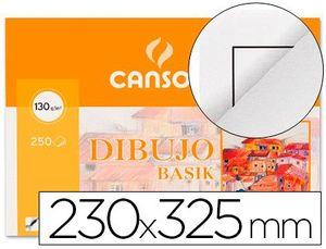 PAPEL DIBUJO BASIK RECUADRO 23X32.5 130 GR