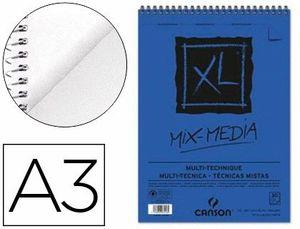 BLOCK DIBUJO A3 XL MIXMEDIA 300 GR