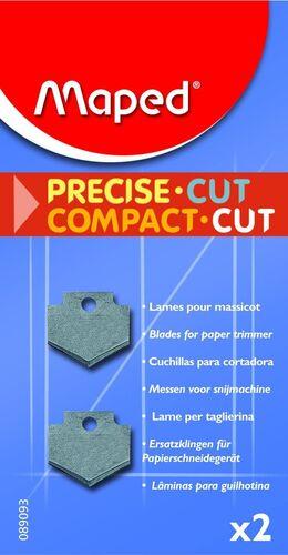 RECAMBIO 2 CUCHILLAS PREC-COMPACT CUT