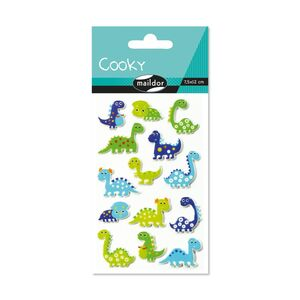 STICKERS DINOSAURIOS PACK 1 HJ 7,5X12 CM
