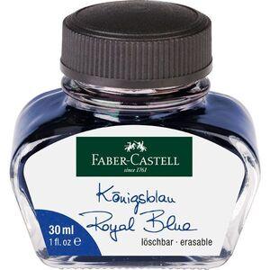 TINTERO 30 ML FABER - CASTELL AZUL REAL