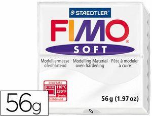 PASTA STAEDTLER FIMO SOFT BLANCO 56 GR