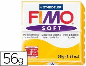 PASTA STAEDTLER FIMO SOFT AMARILLO 56 GR